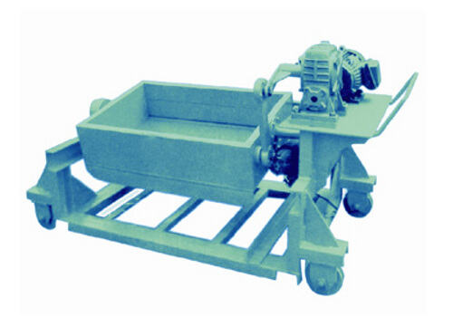 Vibrating screen-TOP SAMPLER