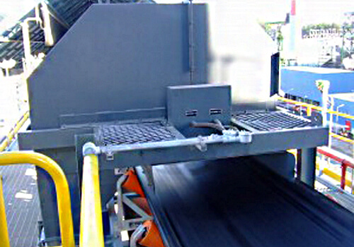 cross belt sampling system- TOP SAMPLER