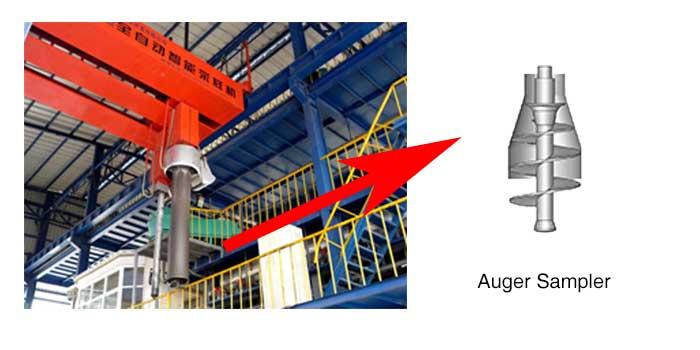 coal auger sampler